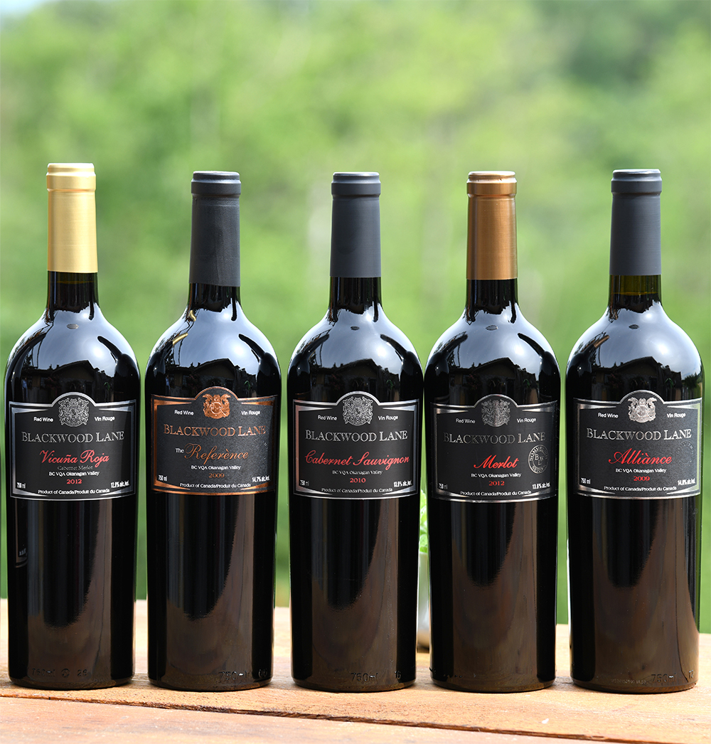 Red Wines of Blackwood Lane