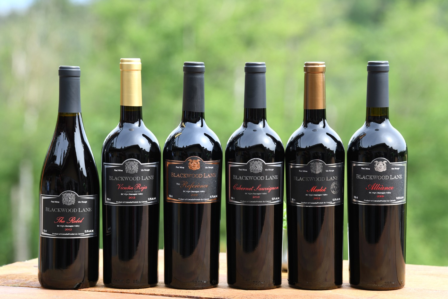 red wines from Blackwood Lane Winery