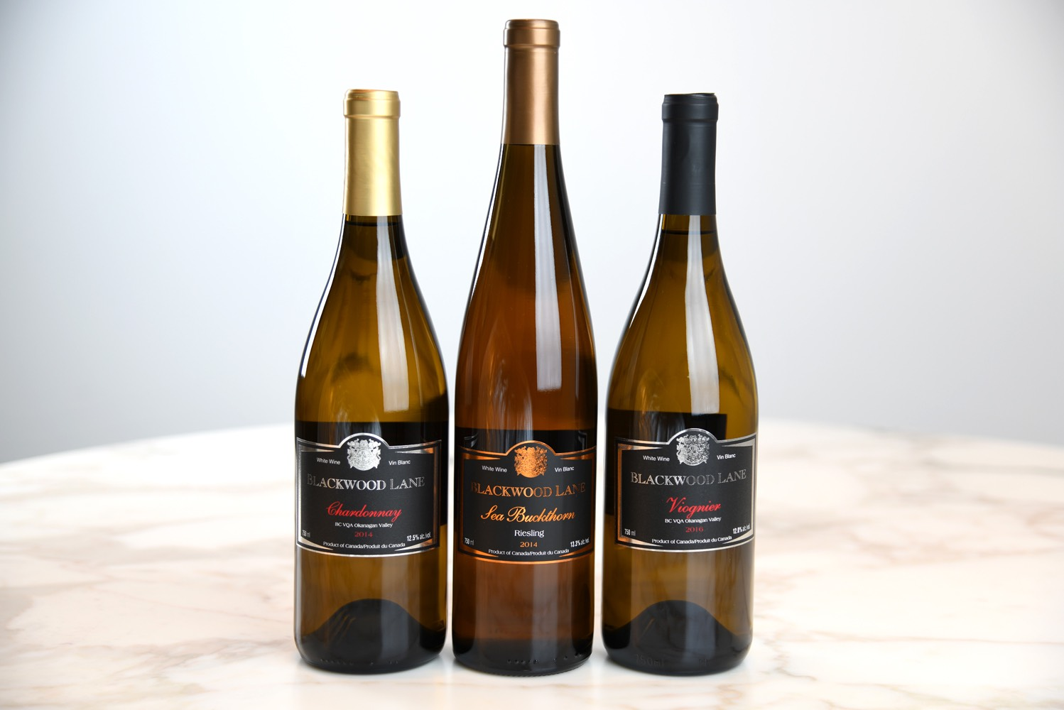 Blackwood Lane Winery white wines