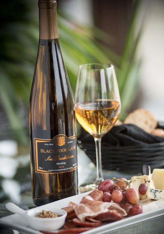 Sea Buckthorn Riesling Wine by Blackwood Lane Winery